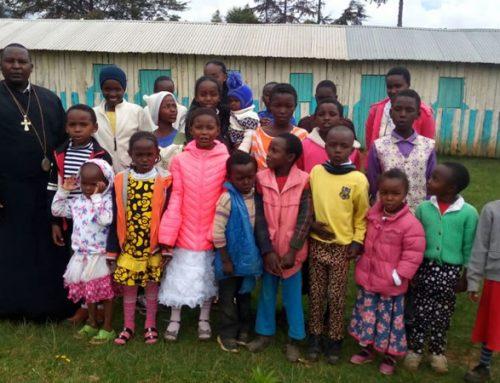 Pupils at St Irene Mission