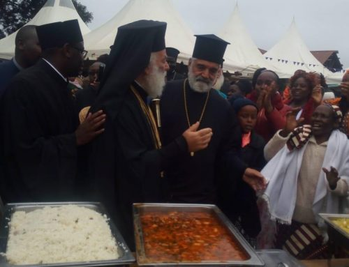 Patriarch of Alexandria and All Africa was in Kenya on Sunday: Toiag Archdiocese Pointing to Heaven