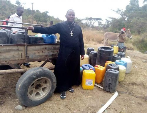 """EXCELLENT WONDERFUL: Dive to 250 meters deep, in the presence of the bishops, they found water (VIDEO: """"I got rid of the donkey carriage."""")"""