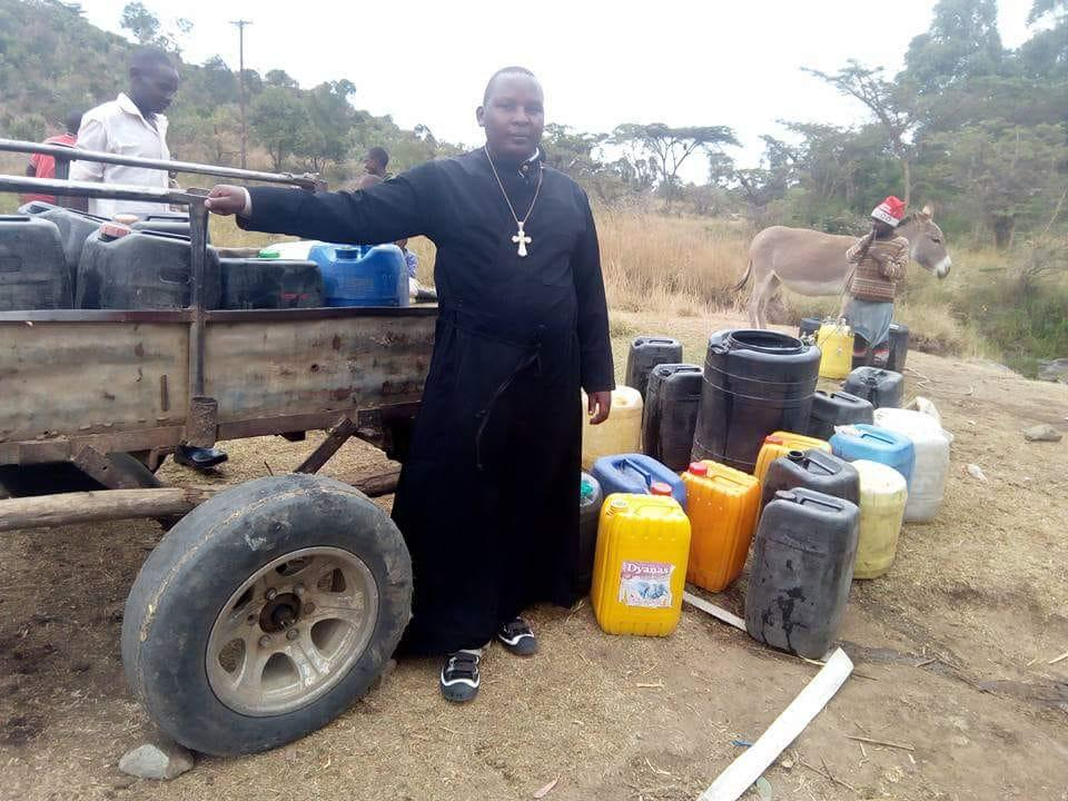 "EXCELLENT WONDERFUL: Dive to 250 meters deep, in the presence of the bishops, they found water (VIDEO: ""I got rid of the donkey carriage."")"