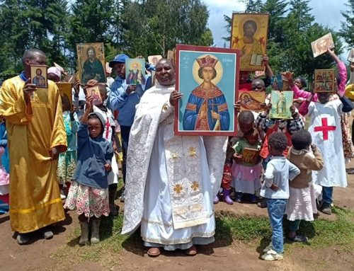 Feast of Orthodoxy at the Orphanage